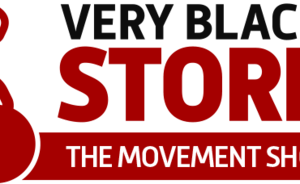 very black store logo